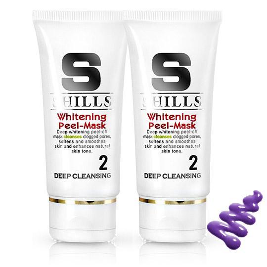 (買1送1)SHILLS電氣石黑頭粉刺速淨面膜(2入組)*此為活動唯一入口*