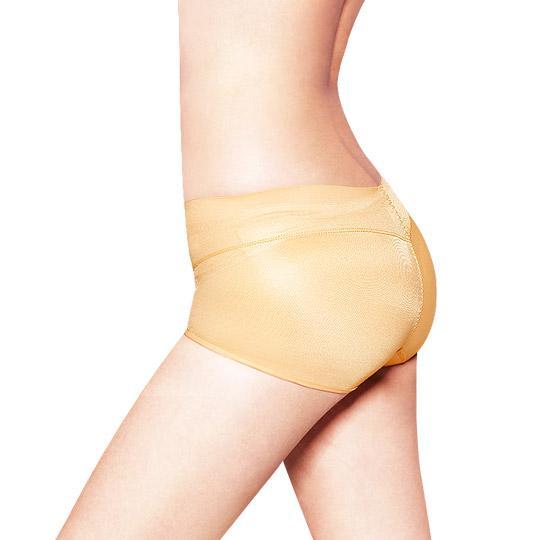 日本3D魔翹-完美無痕提臀低腰平口內褲(膚)