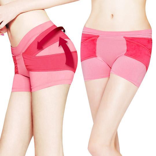 日本3D魔翹-日夜雙攻集中美臀褲(胭脂紅)