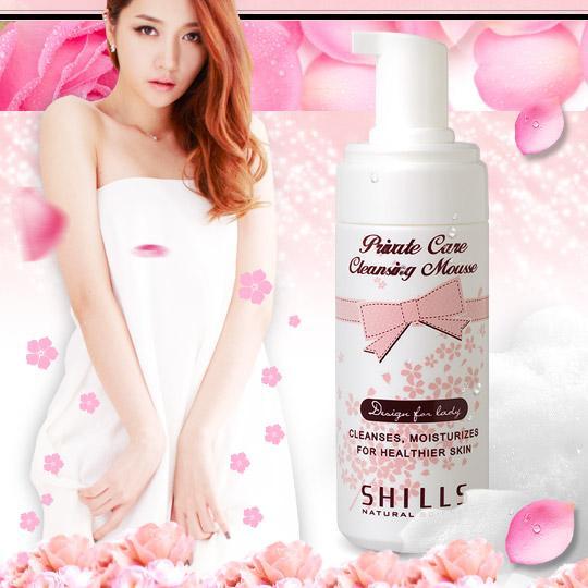 SHILLS蔓越莓私密粉嫩淨味慕絲