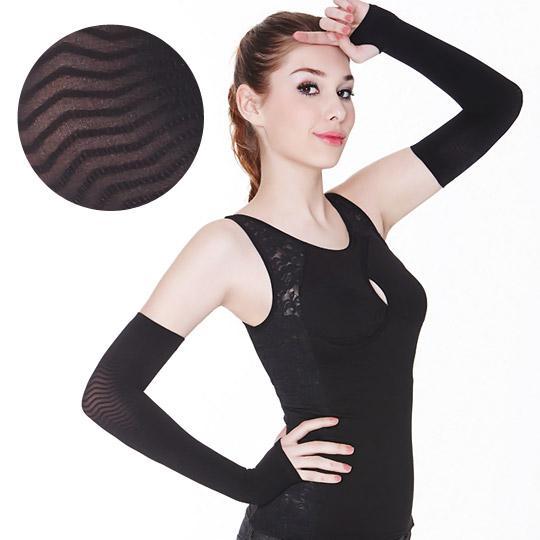 日本高丹無接縫凹凸美型纖臂套(UV加長版)