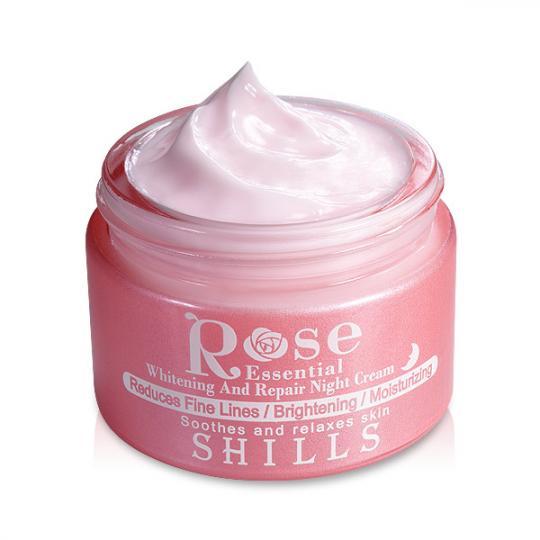 SHILLS大馬士革頂級玫瑰溦整賦活晚霜