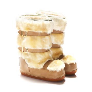 【SugarMelon x 瑞莎】可愛俏皮款 絕對注目超保暖雪靴款(暖暖棕)