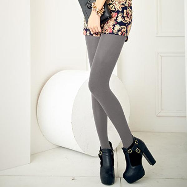 【MEINAS美娜斯】200D天鵝絨褲襪-淺灰