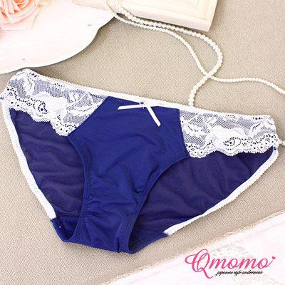 Q momo 香榭麗舍‧歐單精品高質感小褲(星空藍)