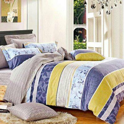 【快速到貨】美夢元素 精梳棉涼被床包組 小時代-單人三件式