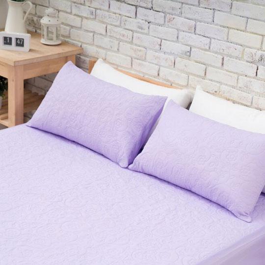 韋恩寢具 MIT涼夏床包式保潔墊-單人