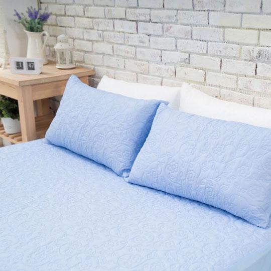 韋恩寢具 MIT涼夏床包式保潔墊-雙人