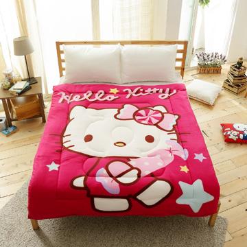 HO KANG 三麗鷗授權 Hello Kitty 暖暖毯被-我的蜜糖