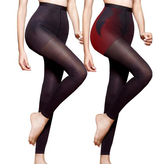 日本420高丹-黃金比例修長美腿機能9分褲2入